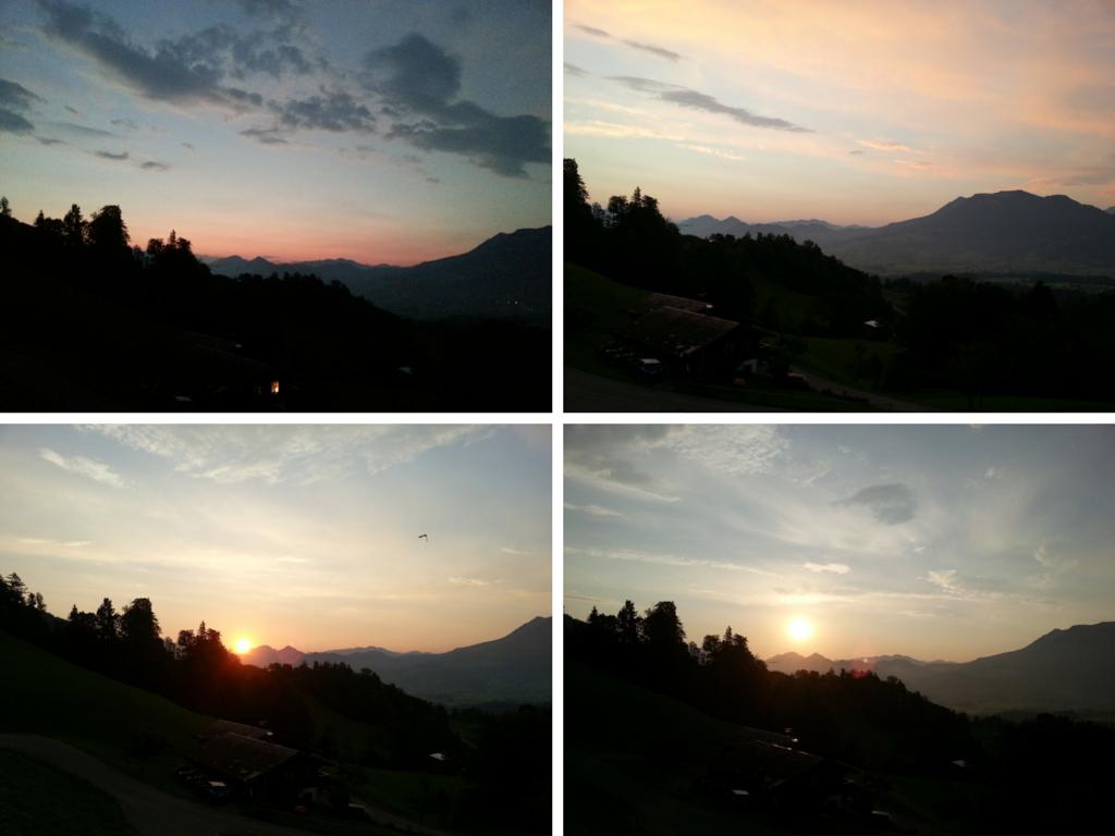 Sonnenaufgang Brittenberg