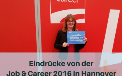 Personalmarketing auf der Job & Career 2016