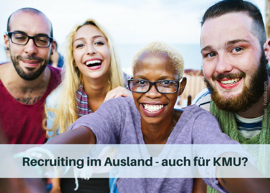 Recruiting im Ausland